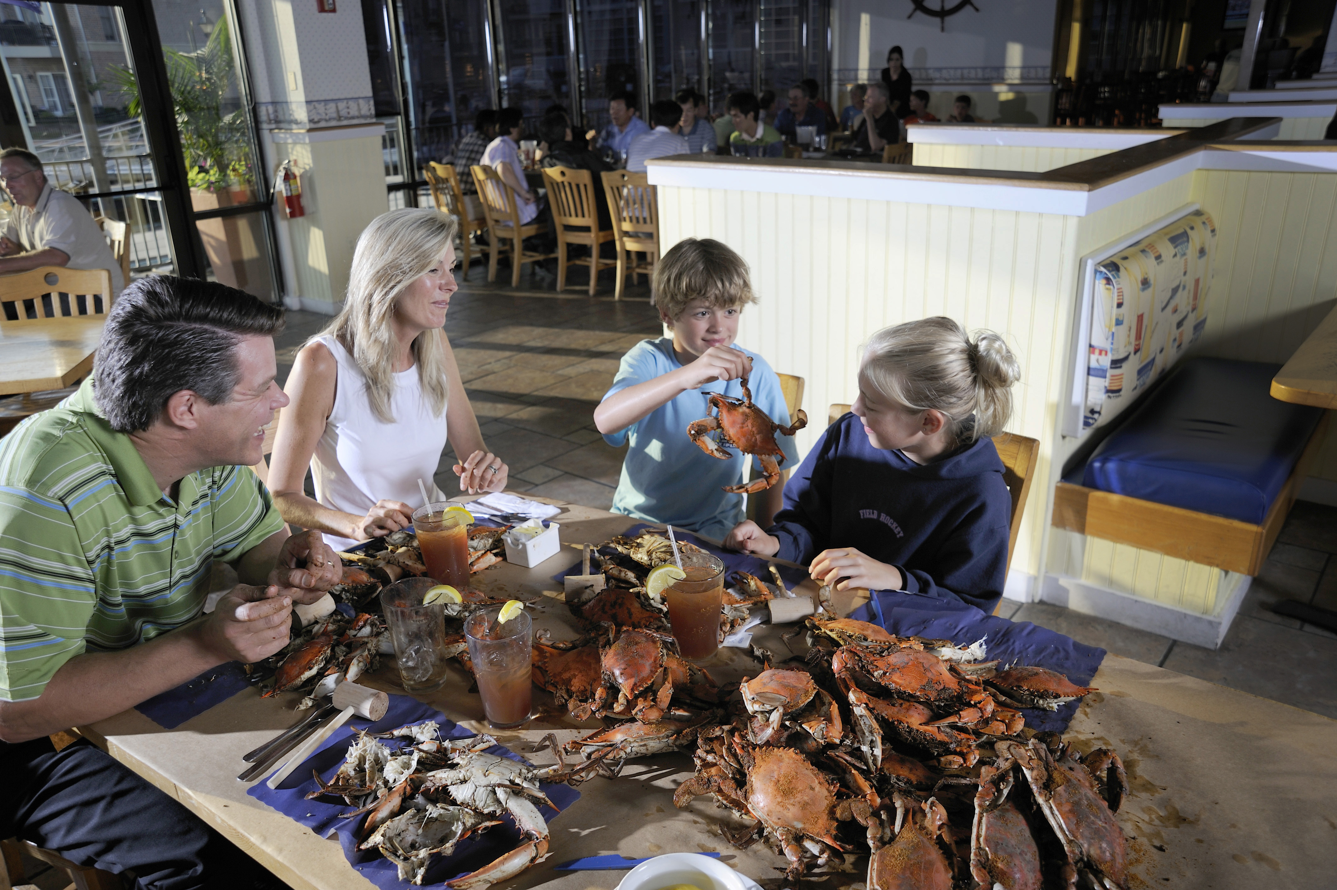 Baltimore Crab Feast Starr Tours Charters