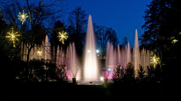 Longwood Gardens Holiday; Photo Courtesy Of Longwood Gardens