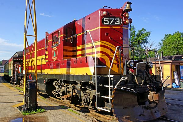 Conway Valley Train; Photo Credit Dennis Jarvis