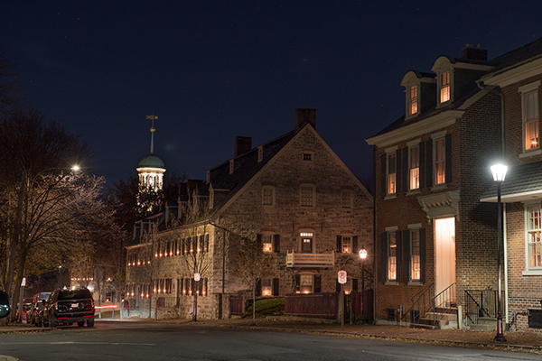 Bethlehem's Christmas Town; Photo Courtesy of Discover Lehigh Valley
