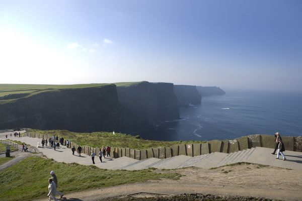 Cliffs of Moher; Photo Courtesy of Cliffs of Moher Visitor Centre