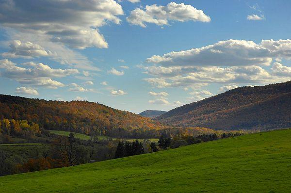 Berkshire Mountains; Photo Credit Kevin Sprague