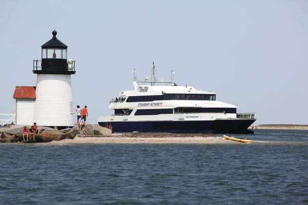 Nantucket Ferry; Photo Credit Steamship Authority