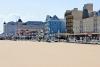 Ocean City beach and boardwalk